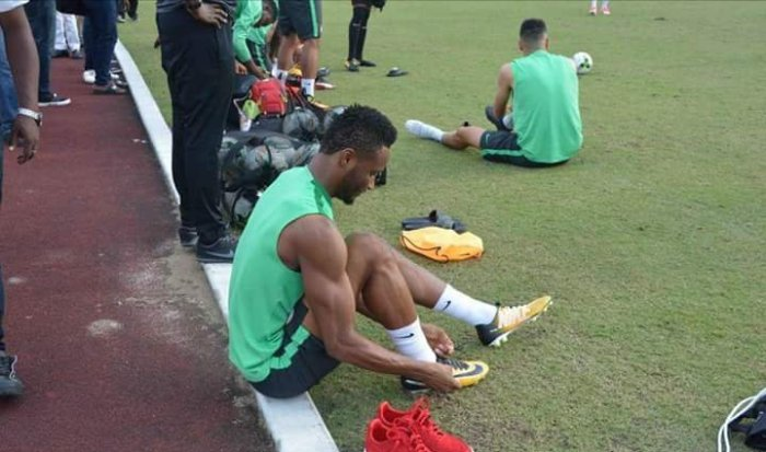 Super Eagles Final Training Before Zambia Clash
